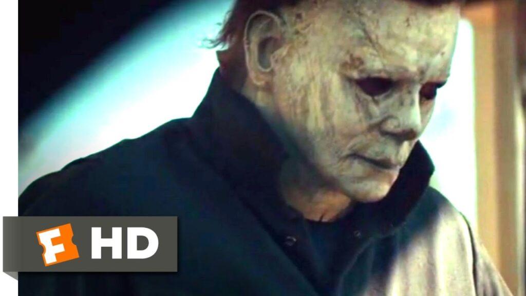 Halloween (2018) – Bathroom Bloodshed Scene (2/10) | Movieclips